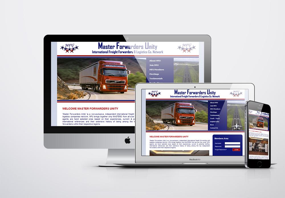 Master Forwarders Unity Kurumsal Web Sitesi
