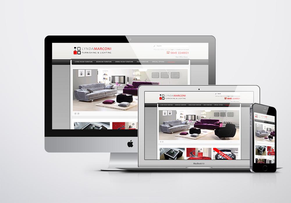 Lynda Marconi Kurumsal Web Sitesi
