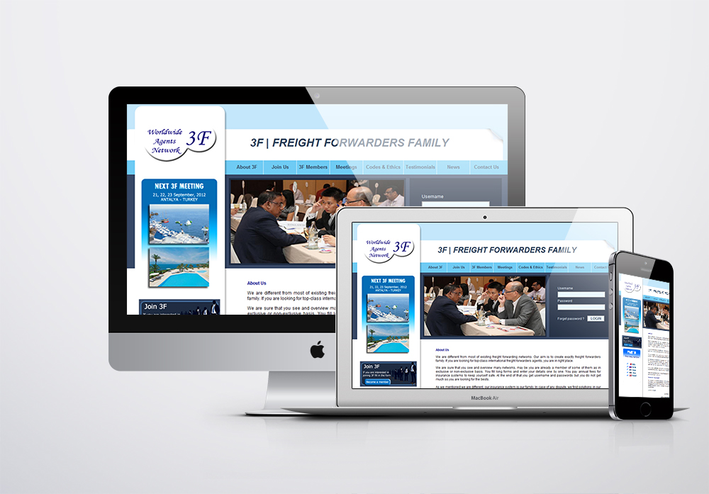 3F Freight Forwarders Family  Kurumsal Web Sitesi