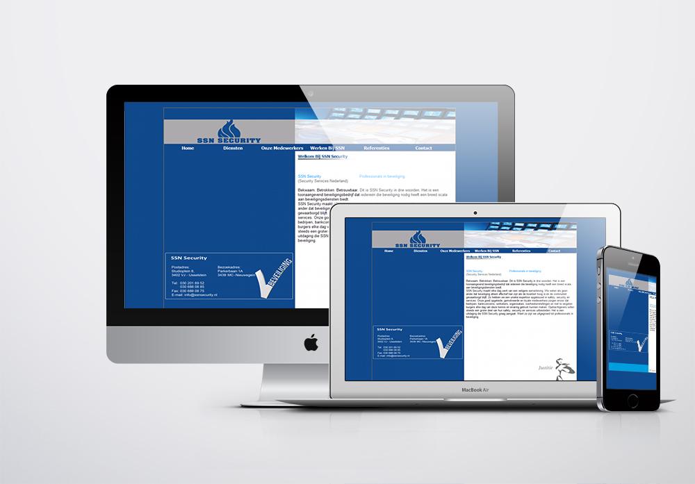 Security Services Nederland Kurumsal Web Sitesi