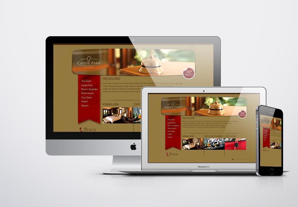 Mersin Cadde Park Hotel Kurumsal Web Sitesi