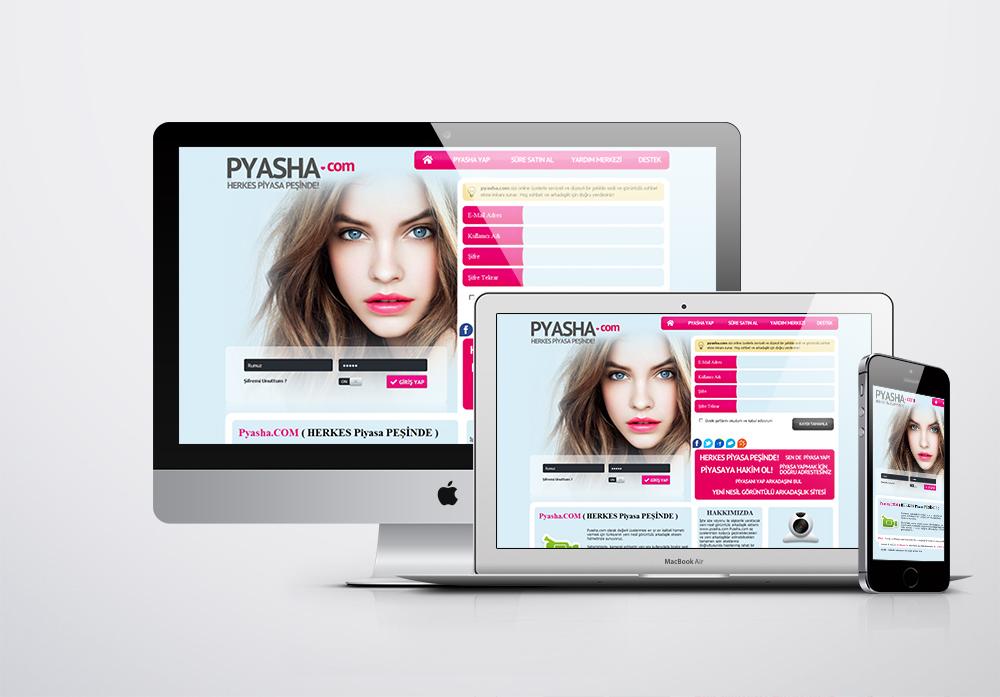 Pyasha Kurumsal Web Sitesi