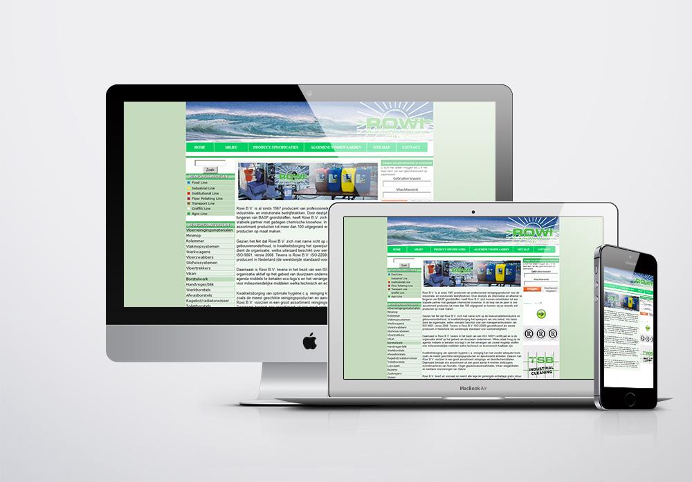 Rowi B.V Kurumsal Web Sitesi