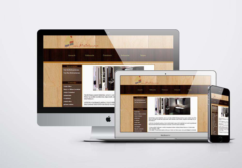 Albadekor Kurumsal Web Sitesi