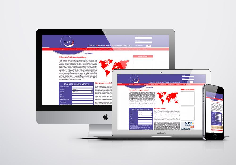 T.A.C. Logistics Alliance Kurumsal Web Sitesi