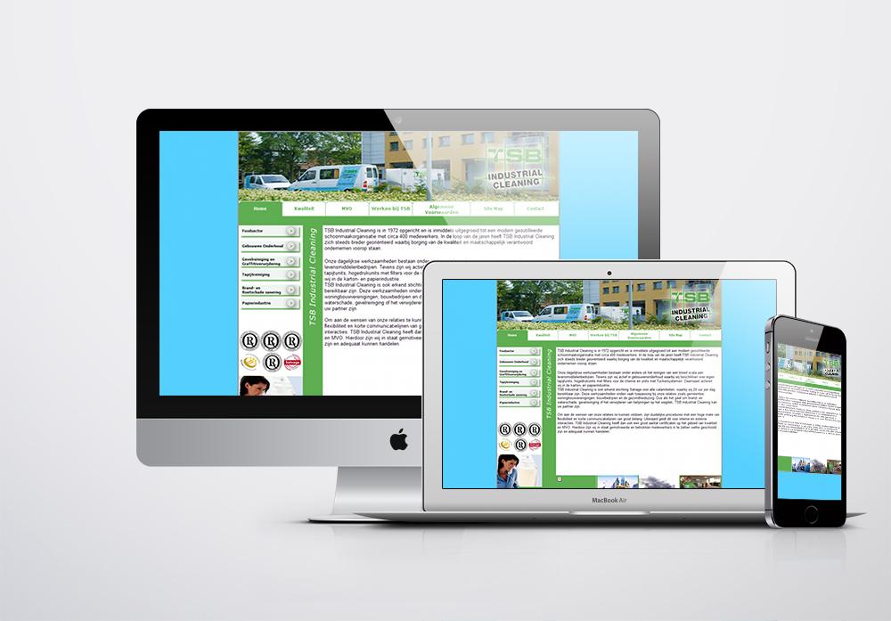 TSB Industrial Cleaning Kurumsal Web Sitesi