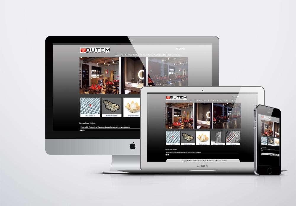 Butem Mimarlık Kurumsal Web Sitesi