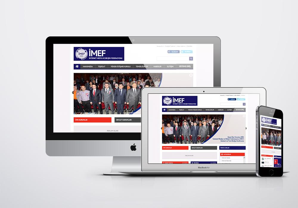 IMEF - İnternet Medya ve Bilişim Federasyonu Kurumsal Web Sitesi