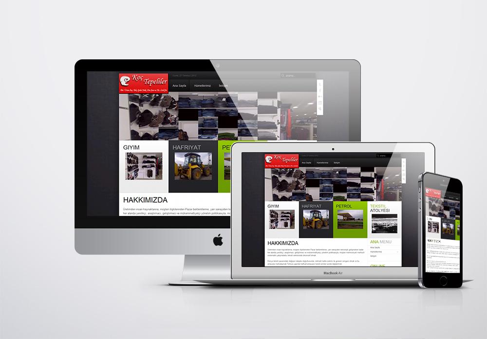 Koçtepeliler Ltd. Kurumsal Web Sitesi