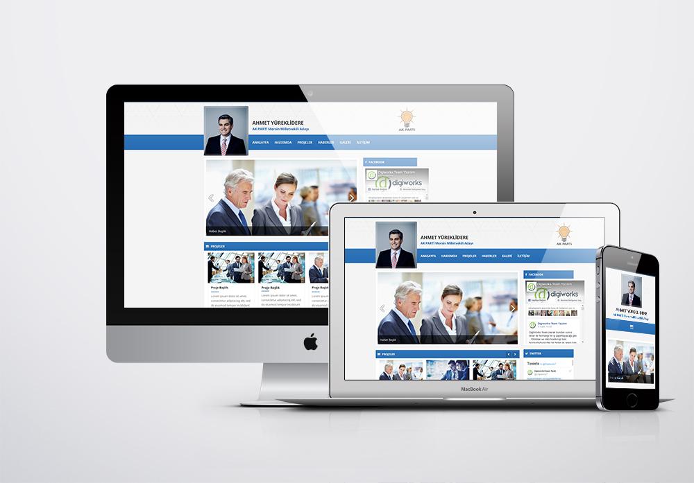 Milletvekili Web Sitesi Paketi - 1