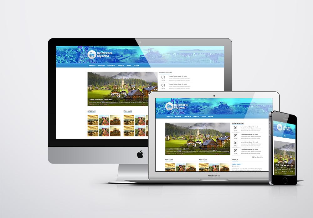 Köy Web Site Paketi - 1